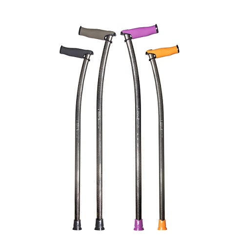bastones ortopédicos fibra de carbono