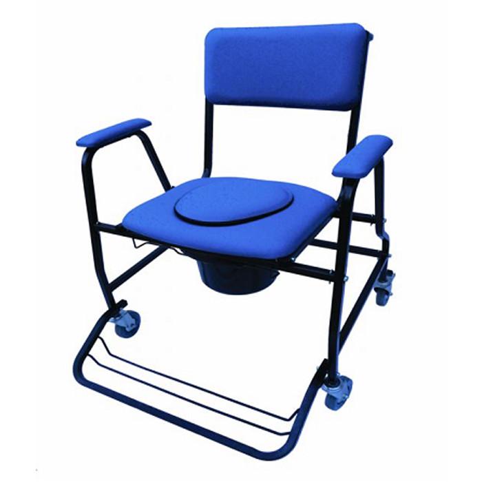 Silla de habitaci n con inodoro y ruedas fortissimo asister for Sillas para habitacion