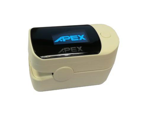 pulsioximetro de dedo profesional apex