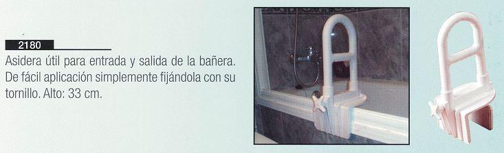 Asidera de Bañera