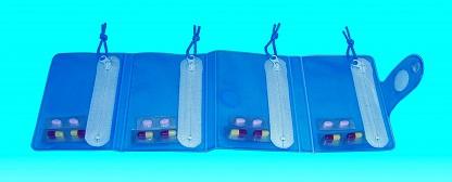 pastillero de viaje