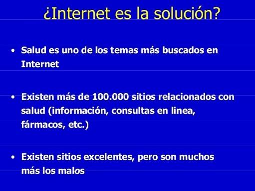 ¿internet es la solución Asister?