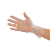 guantes de vinilo sin polvo excelente calidad