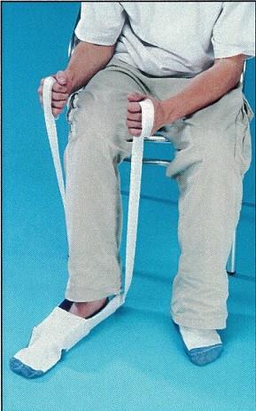 ayuda aponer calcetines
