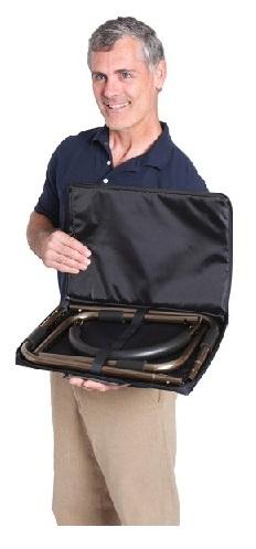 Barandilla de Apoyo Para La Cama. Portátil De STANDER. Ideal para Viajes. Fácil de desmontar y guardar en la bolsa.
