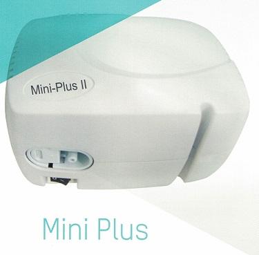 Nebulizador Mini Plus. Tratamiento de enfermedades pulmonares crónicas y asma.