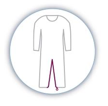 Pijamas Manga Corta. Facilita la labor del cuidador