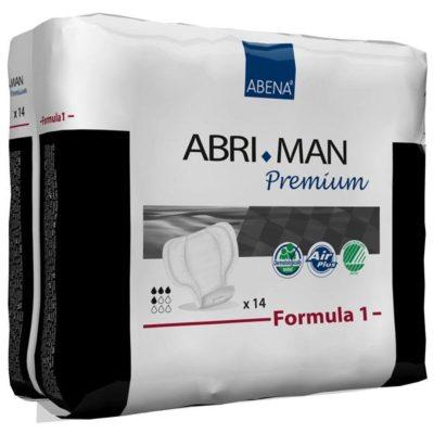 Compresa Masculina ABRI-MAN. Exclusivo sistema siempre seco.