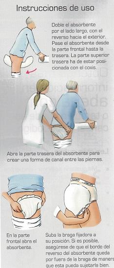 Apósitos Anatómicos Para Incontinencia Para Mujer De ABRI-SAN. Comodidad. Alta calidad del tejido.