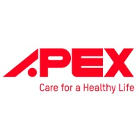 logotipo apex medical care for a healthy life