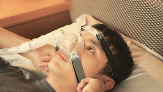 Soporte Frontal Mascarilla WIZARD 210. Tratamiento de la apnea obstructiva del sue