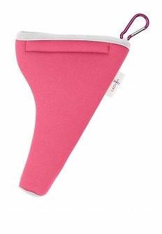 funda protectora rosa