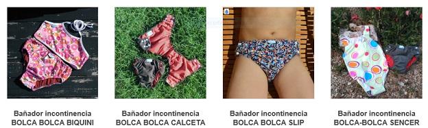 bañador incontinencia