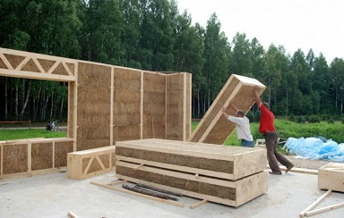 Paneles de construcción