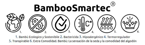 especificaciones Calzoncillos Boxer de Bambú