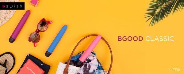 Vibrador Personal BSWISH. Modelo BGOOD DELUXE. Elegante con acabados de excelente calidad.