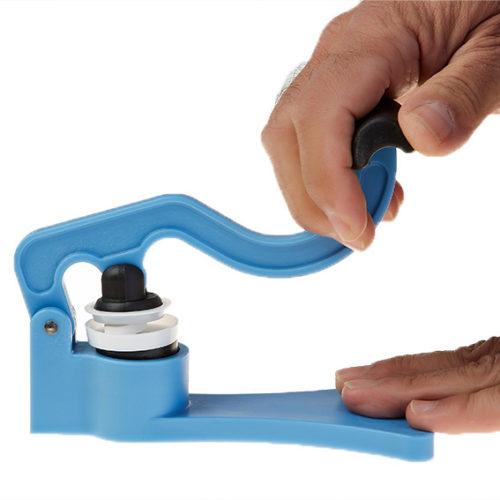 utilizar triturador de pastillas
