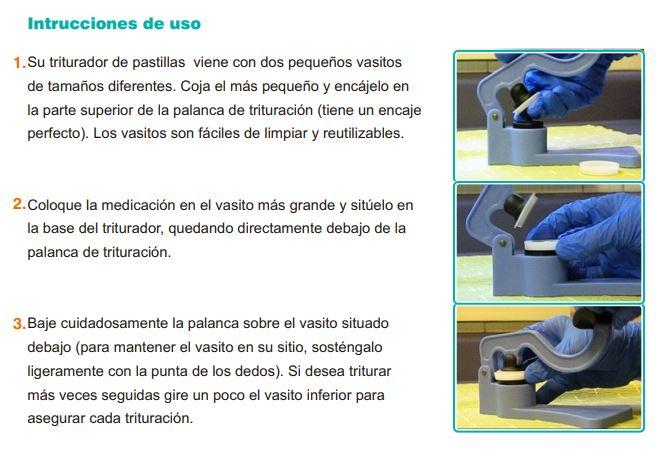 Intrucciones de Uso MaxCrush 300