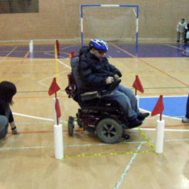 Slalom en Silla de Ruedas – Deporte Adaptado Paralímpico. Un Trabajo Turolense