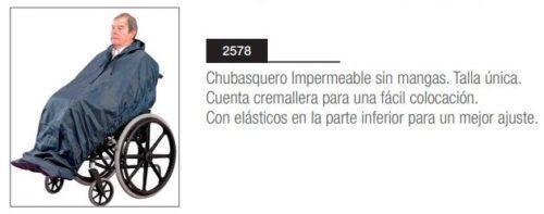 Chubasquero Impermeable Sin Mangas