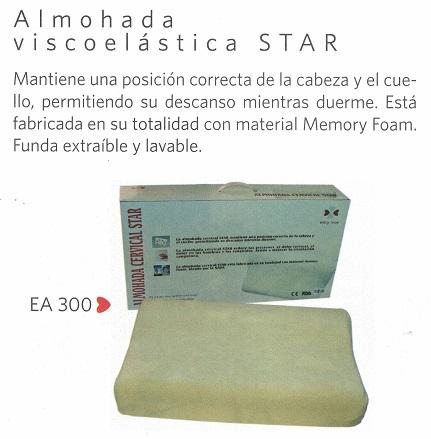 Almohada Cervical Viscoelástica STAR