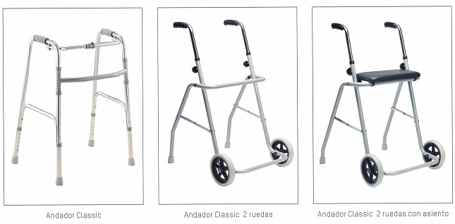 modelos caminadores apex medical
