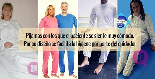 Pijamas de Invierno, Diseñados Pensando en la Comodidad del Paciente…