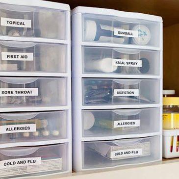 Almacenamiento de Medicamentos: Recomendaciones para almacenar tus medicamentos en casa