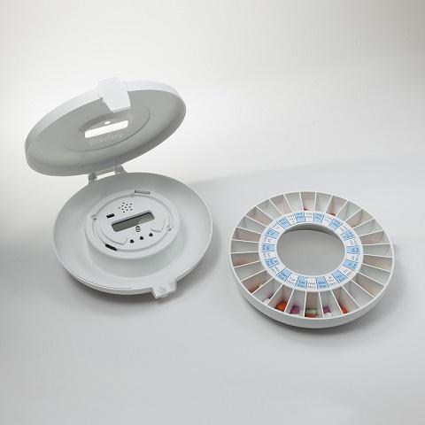 Dispensador Automático de Pastillas Recordatorio