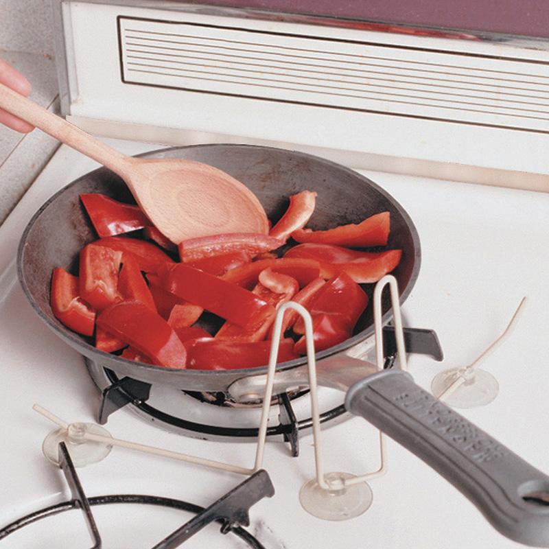 Sujeta ollas y cacerola ayuda de soporte asister for Soporte utensilios cocina