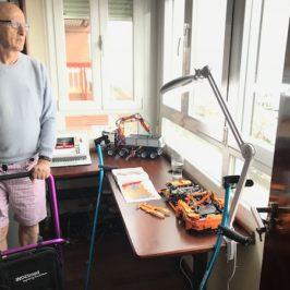 Nuestros Productos para Rehabilitación. Dr.Wazken Kazanjian Experimenta Nuestros Productos en su Propia Rehabilitación