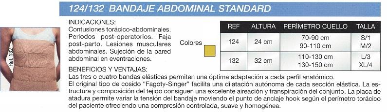 Bandaje Abdominal Standard