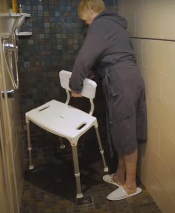 Asiento para duchar PORTOFINO