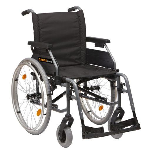 silla de aluminio gades vario