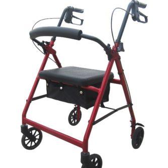 Rollator Con Frenos Y Asiento Regulable. Ofrecen más agilidad y seguridad.