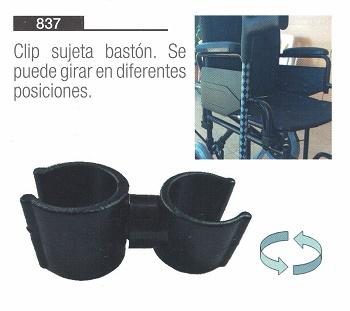 Clip Sujeta Bastones Giratorio