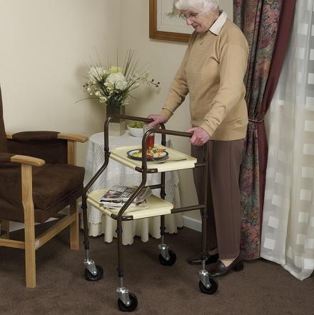 Carrito GEMINI. Gran ayuda para las personas que tienen un impedimento fisico.