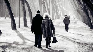 frío y tercera edad