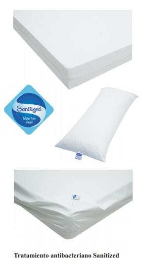almohadas con tratamiento antibacteriano