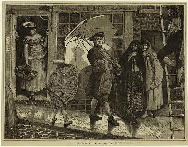 historia del paraguas