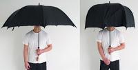 """historia del paraguas. El paraguas """"educado"""", puesto que no """"molesta"""""""