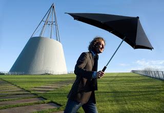 historia del paraguas. Paraguas aerodinámico.
