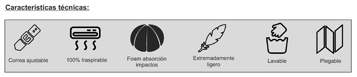 Cascos De Protección Craneal GORRO LENNY De RIBCAP