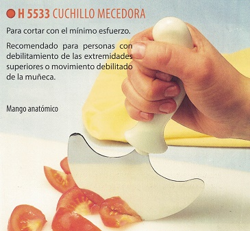 cuchillo mecedora