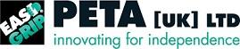 logotipo PETA UK