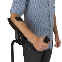 Muleta KMINA PRO. Diseñada para evitar los dolores y lesiones.