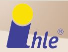 logotipo Ihle calcetines