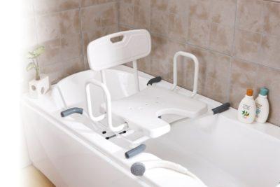 Asiento Giratorio Para Bañera Con Respaldo