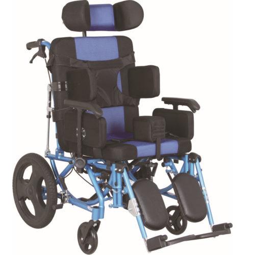 silla de ruedas de seguridad de aluminio