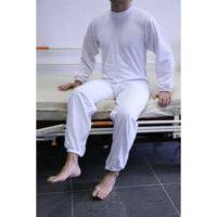 Pijamas anti pañal de manga larga